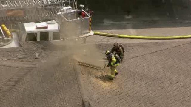 Southfield apartment fire 1