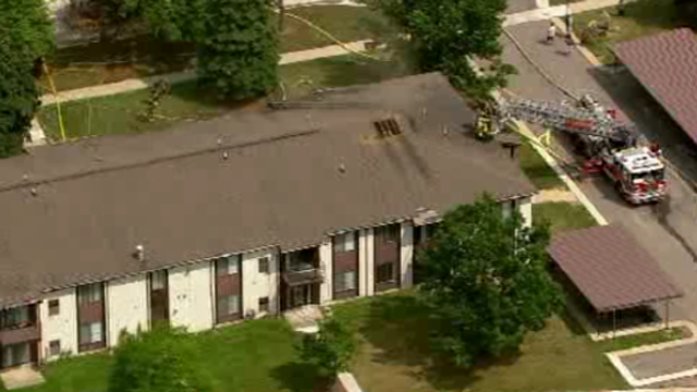 Southfield apartment fire 4