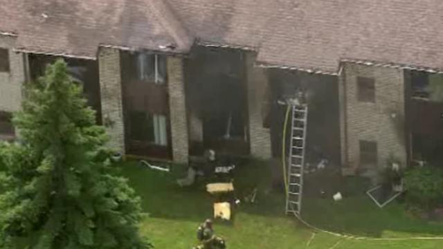 Southfield apartment fire 5