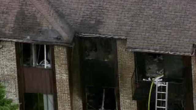Southfield apartment fire 8