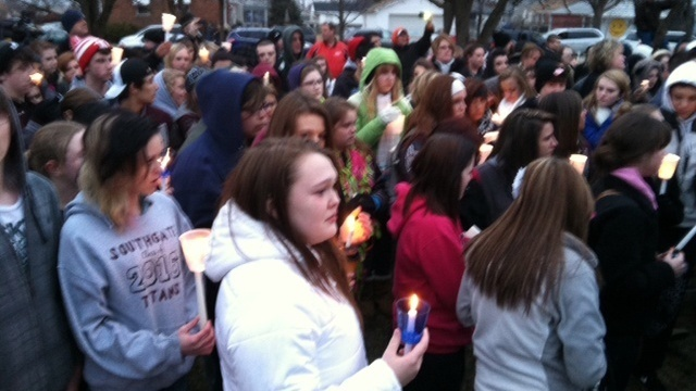 Southgate vigil 1