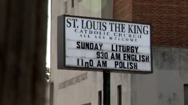 St Louis the King Church Detroit