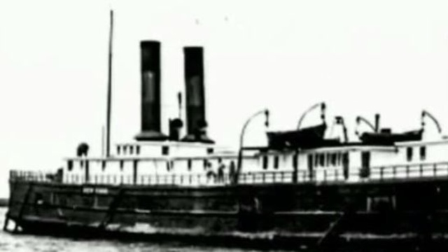 Steamer New York found in Lake Huron