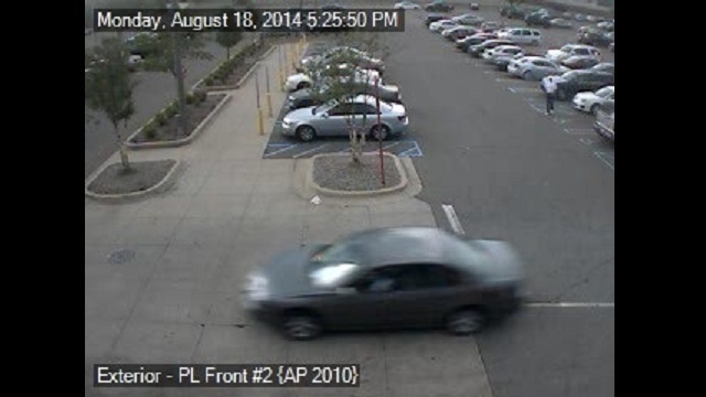 Target robbery suspect car