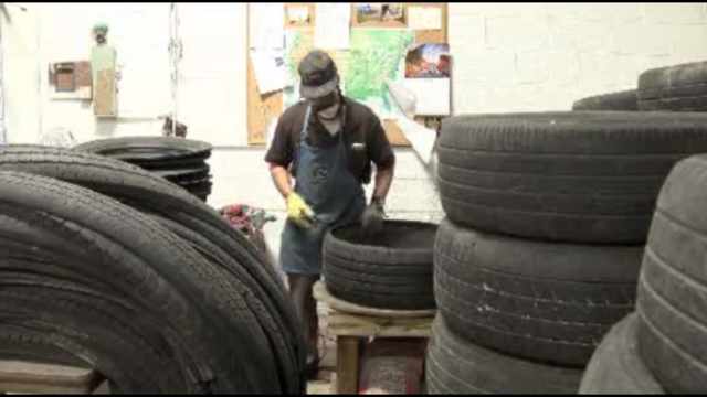 Tires at Cass Community