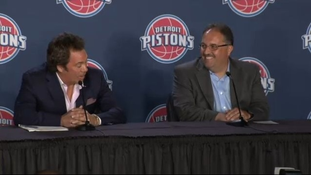 Tom Gores and Stan Van Gundy