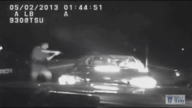 Troy mom DUI dashcam