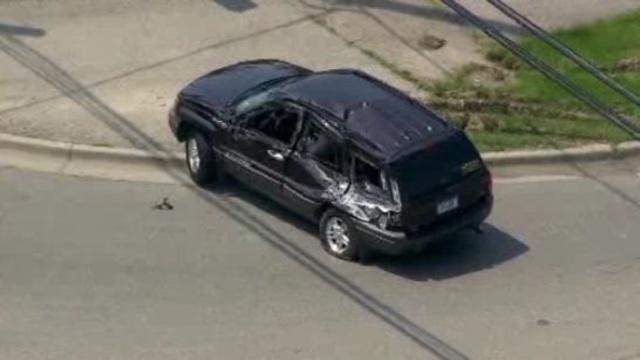 Truck overturned West park Drive Novi 7