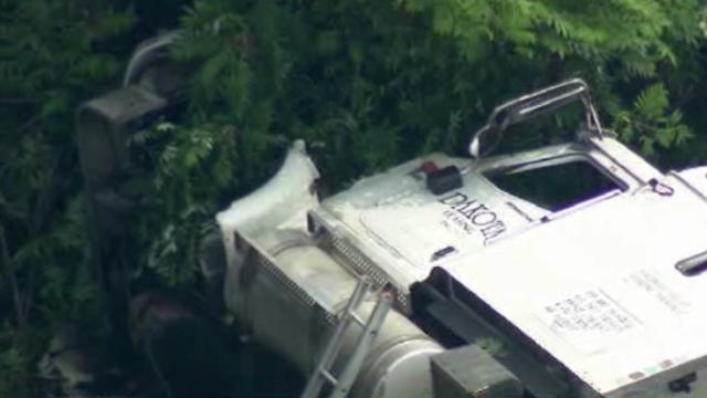 US23 truck crash 11