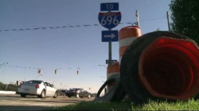 Van Dyke at I-696 in Macomb County closure 3