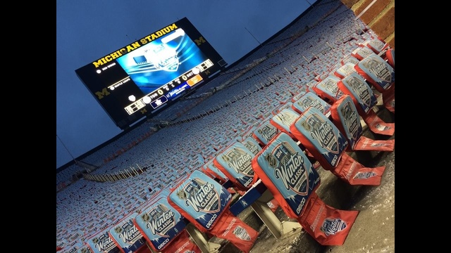 Winter Classic seats in Big House