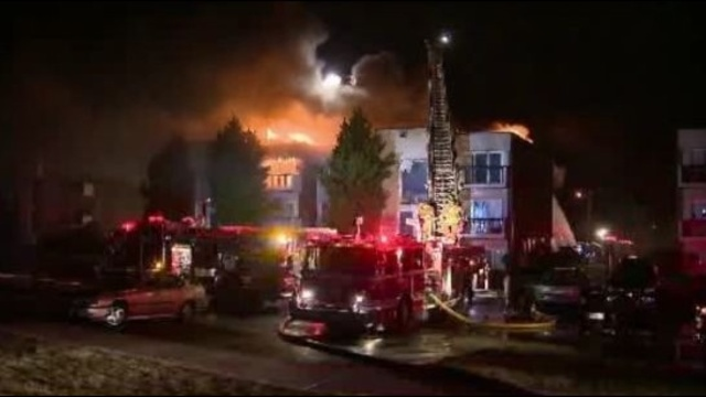 Inkster apartment fire