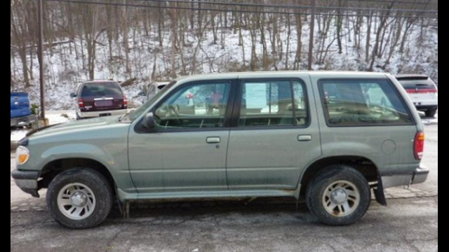 missing 83-year old Anne Burns car image