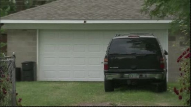 Garage where pregnant woman was attacked