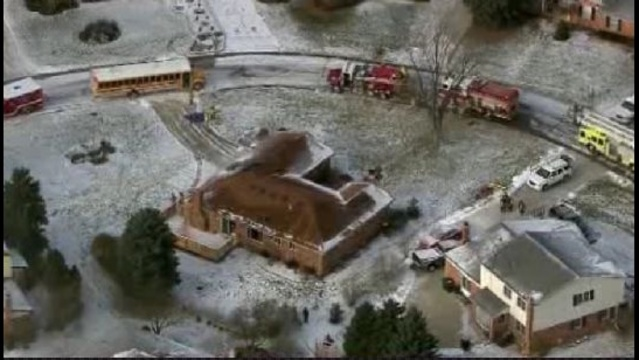 rochester hills fire scene