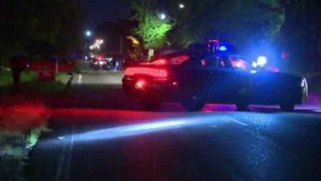 romulus and MSP cars on crash scene