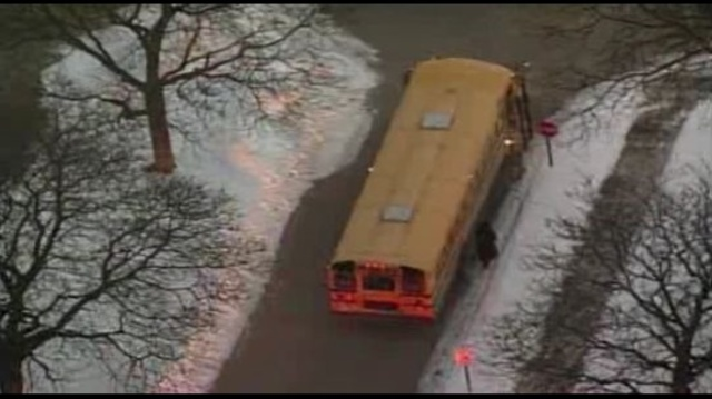stolen school bus Detroit1
