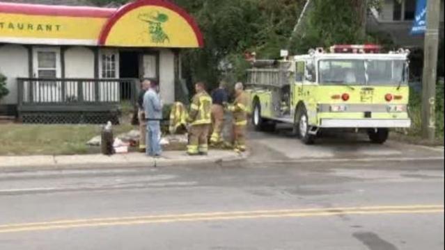 Ponchos Restaurant fire New Baltimore 2