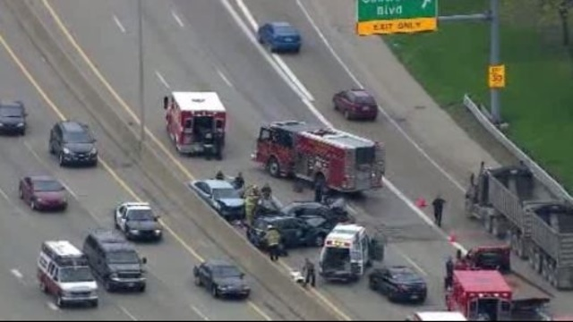 A wrong-way accident shut down southbound M-39 at Rotunda just before 12_30 p.m. Monday_19937116