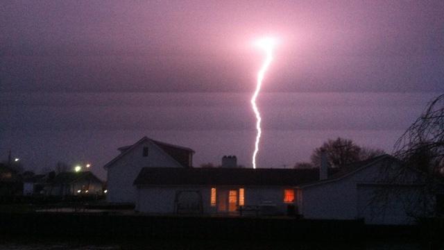 New Baltimore thunderstorm