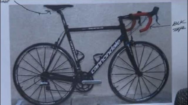 Patrick Joseph Mikes bike
