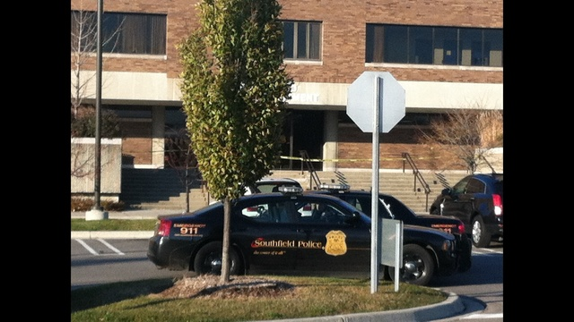 Officer wounded in shoot out at Southfield Police Department