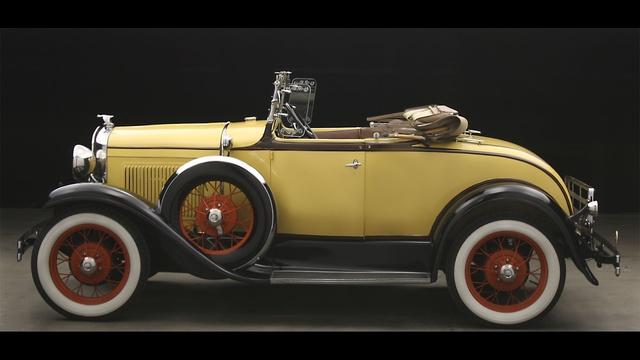 1930 classic Model A convertible