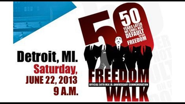 50th Anniversary Freedom Walk in Detroit