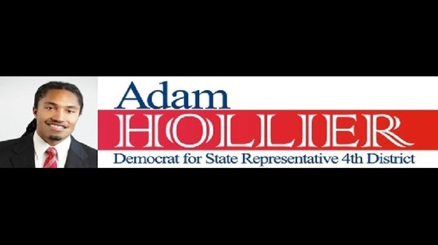 Michigan candidate Adam Hollier sign stolen