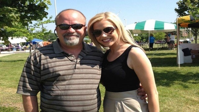 Celebrating Father's Day: Ashlee Baracy and her dad