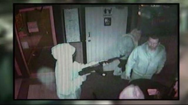 Bar armed robbery