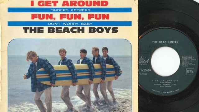 Beach Boys I Get Around record