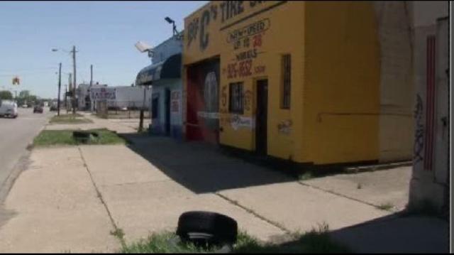 Big C Tire Shop in Detroit