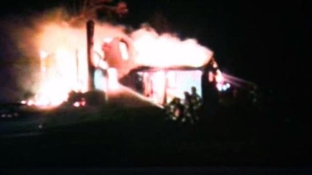 Bruce Township fire 1