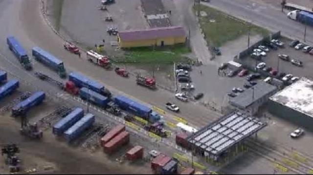 CSX rail yard scene 2