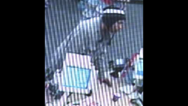 CVS armed robber close up