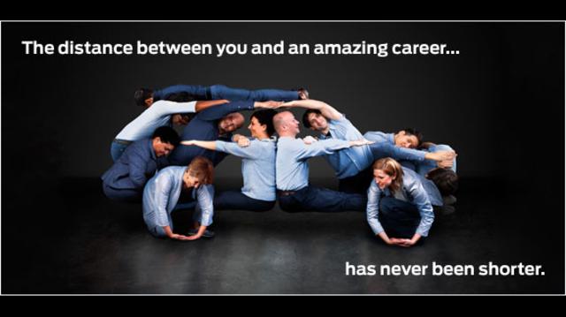 Careers advertising image