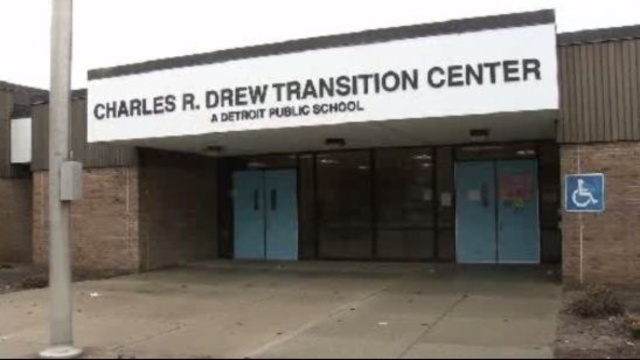 Charles Drew Transition Center Detroit school