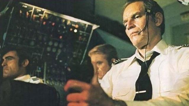 Charlton Heston in Skyjacked