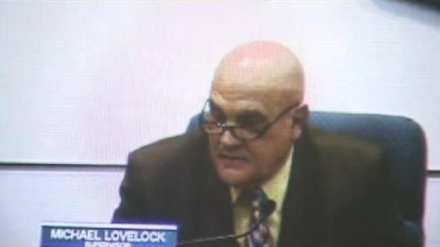 Chesterfield Township Supervisor Mike Lovelock