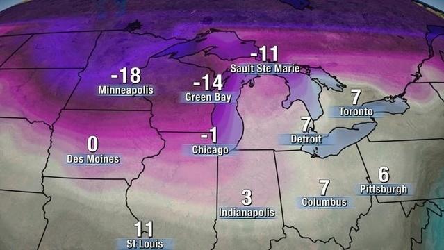Cold weather Michigan