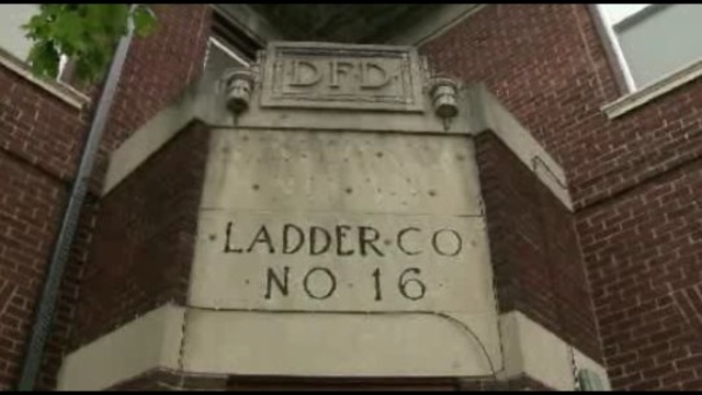 DFD building Ladder 16