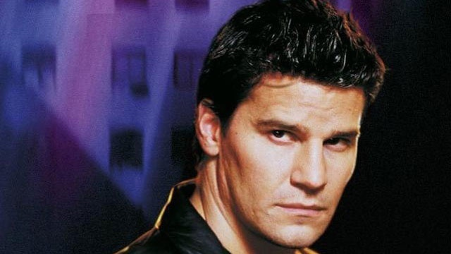 David Boreanaz as vampire Angel