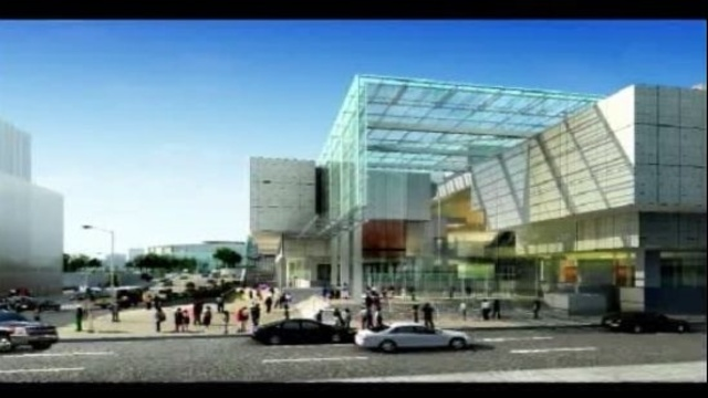 Detroit Cobo Center atrium 6