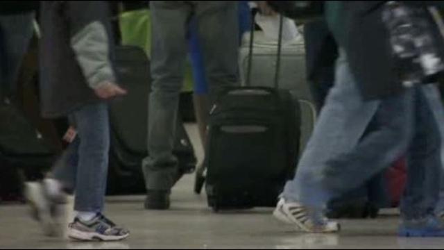 Detroit Metro Airport travelers
