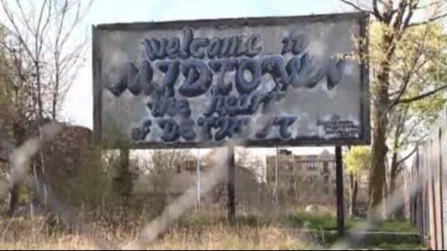 Detroit Midtwon sign