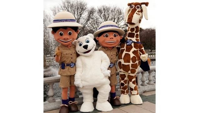 Detroit-Zoo-mascots