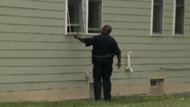 Detroit home invasion window