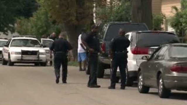 Detroit police officers Leach Street home invasion
