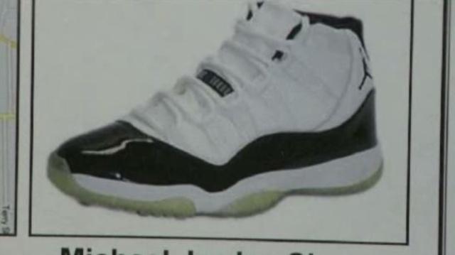 Detroit shooting over Air Jordans